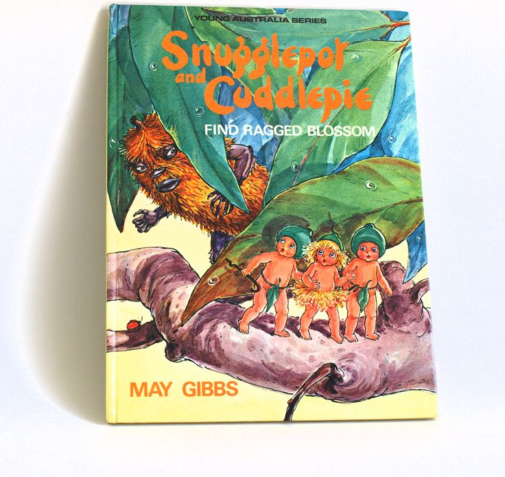 Snugglepot and Cuddlepie Find Ragged Blossom Story Book - Vintage Children's Hardcover Book 1988 - by May Gibbs by FunkyKoala on Etsy