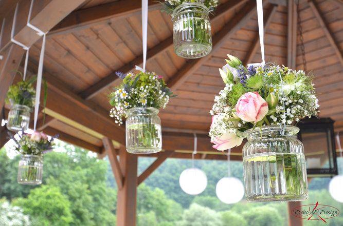 316 besten hochzeitsdekoration bilder auf pinterest - Gartenfeier deko ...