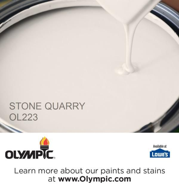 STONE QUARRY OL223 is a part of the off-whites collection by Olympic® Paint.