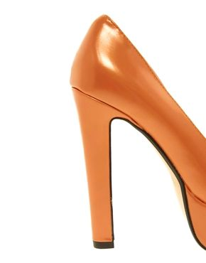 scarpe arancioni tacco - Cerca con Google