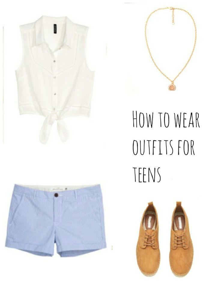How to wear outfits for teens/school/summer/стильные наряды для подростков