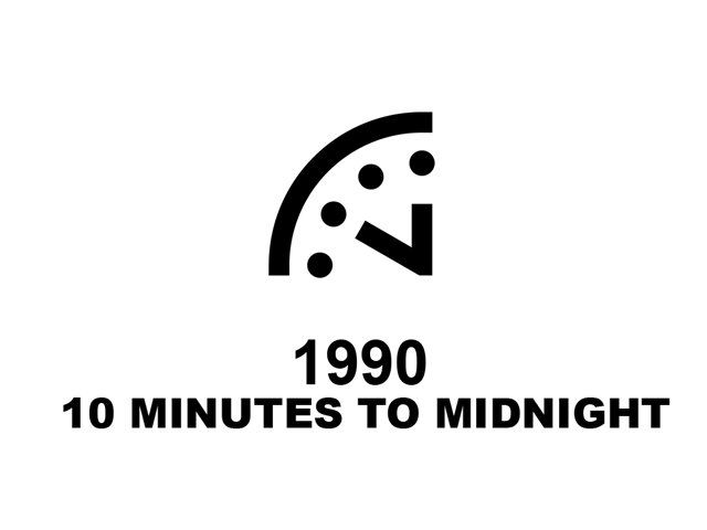 On January 22nd, the Bulletin of the Atomic Scientists will announce whether the hand on the iconic Doomsday Clock will move closer to midnight. The Doomsday Clock has been at 5 minutes to midnight since 2012. The Bulletin's Science and Security Board looks at climate change, nuclear weapons, and emerging technologies to determine how close humanity is to destroying itself, and sets the Clock accordingly. Watch the event live at the Bulletin on Thursday, January 22nd, 11 am EST.