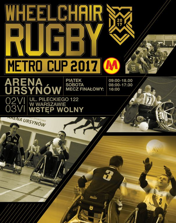 Słyszeliście już o Wheelchair Rugby Metro Cup? Jesteśmy partnerami tego wyjątkowego wydarzenia <3  Bądźcie tam z nami! #rugby #wheelchair  #metrocup2017 #elzap #partnerem :)