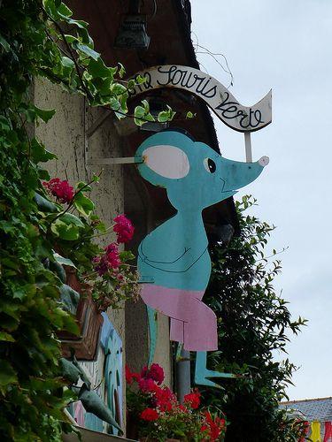 Mouse sign, Guérande 5