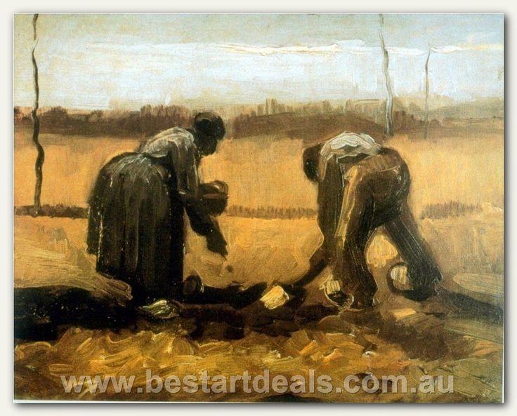 Van Gogh Oil Reproduction _ Planting
