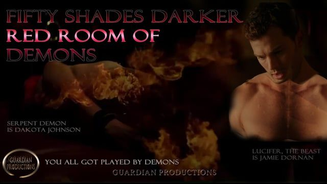 Fifty Shades Darker - red room of demons - World exclusive. This is part two of fifty shades darker, fucked up demons. This is about to get very very frieky. And you are about to see demons everywhere. Jamie Dornan who is not human, morphs into Lucifer, full body, a black beast, then a second beast. We counted 8 beasts inside of him. Video proof, it is right before your eyes. Watch video one first, there is a lot more revealed in that video as well. Sex scenes that reveal demons. Demons all…