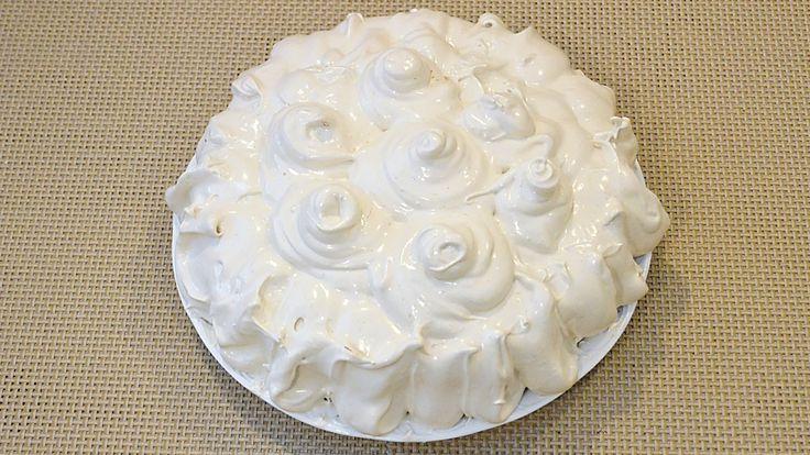 Tort cu bezea / Cake with meringue