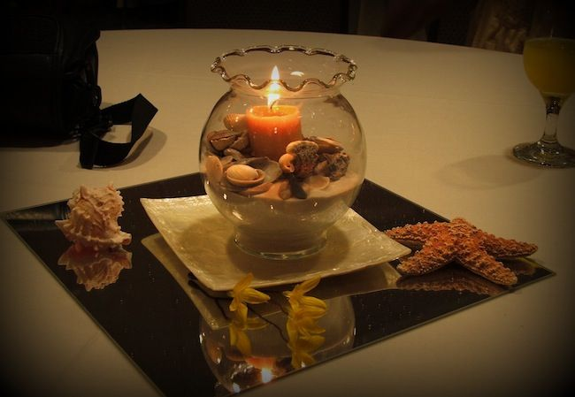 sand and shells for center pieces | Apartment Decorating on a Budget, Personalized Apartment Decor Tips ...