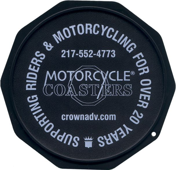 Check out Motorcycle Coasters® at MotorcycleCoaster.com. The Motorcycle Coaster® is sometimes referred to as a kickstand pad kickstand plate side stand ...  sc 1 st  Pinterest & 21 best Motorcycle Coaster® Color Samples images on Pinterest | Dish ...