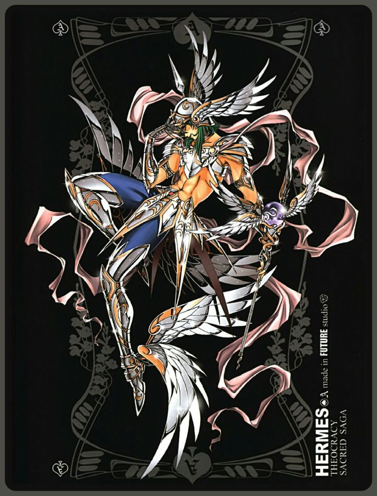 Hermes Future Studio Saint seiya, Anime, Greek and roman