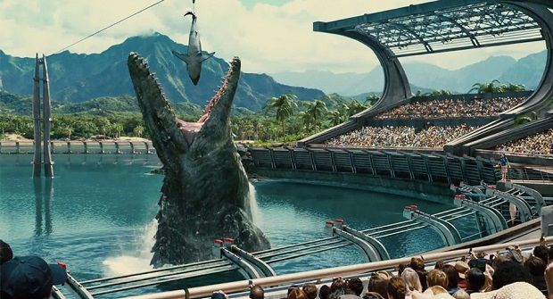 Renowned for Sound reviews 'Jurassic World'