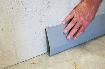 how to waterproof a wet leaky basement with a poured wall foundation