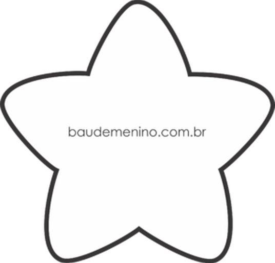 molde estrela