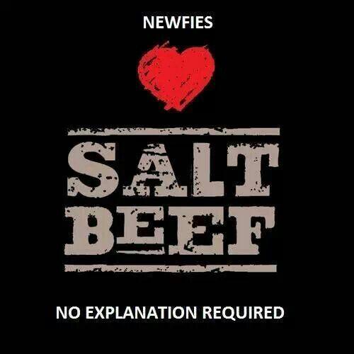 Salt beef. Newfie, Newfoundland humor.