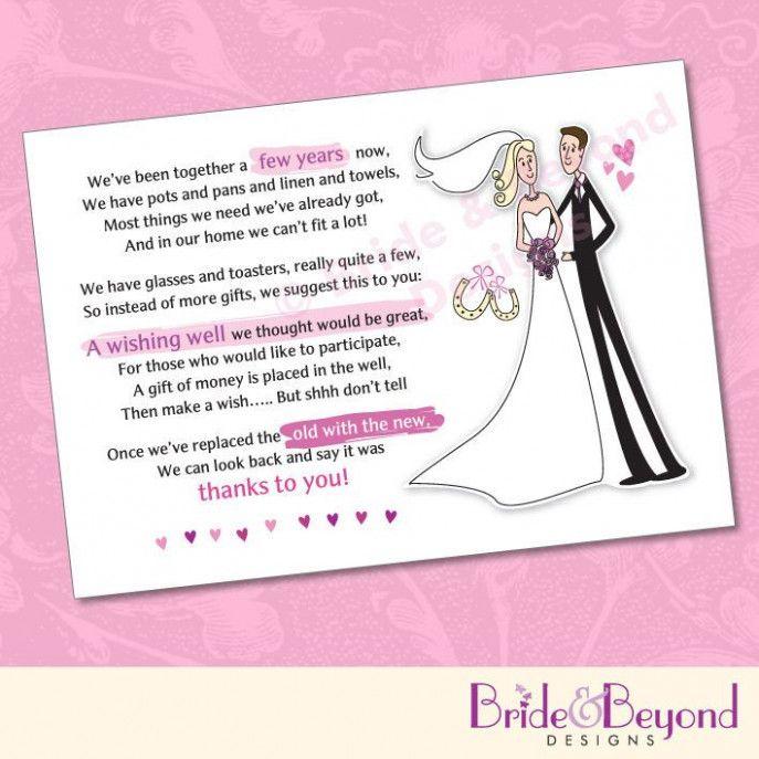 Wedding Gifts Poem Wishing Well Wishing Well Poems Wedding Gift Poem Wishing Well Wedding