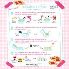 Téléchargez notre recette pour réaliser vos propres barquettes à la fraise chez vous ! Un goûter maison qui fera plaisir aux grands et aux petits !