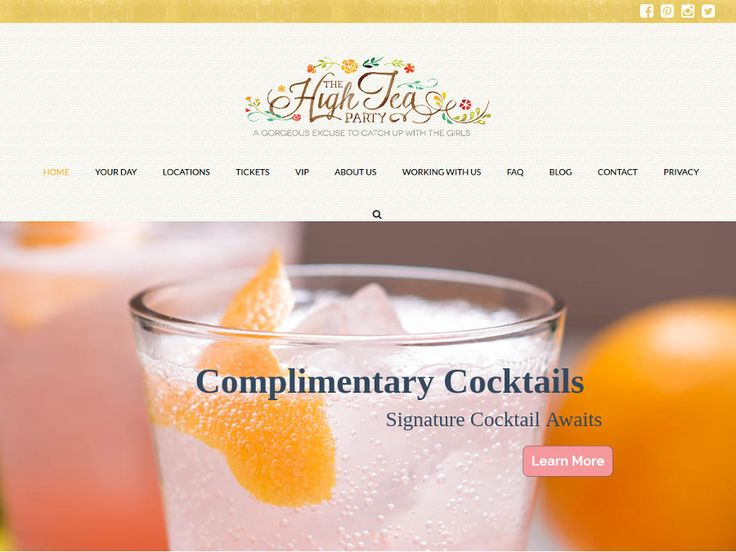 http://thehighteaparty.com.au/ Website - The High Tea Party