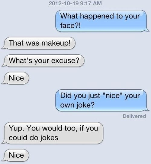 And someone who appreciates a good joke: | 25 Ways To Find Your One True Soul Mate