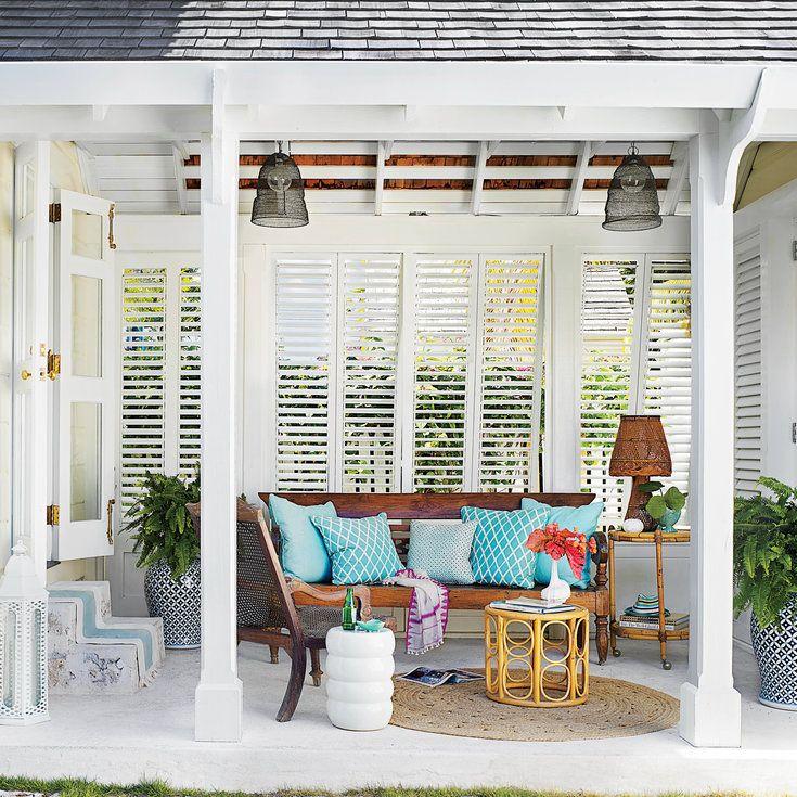10 Beautiful Island Porches, Patios, And Decks