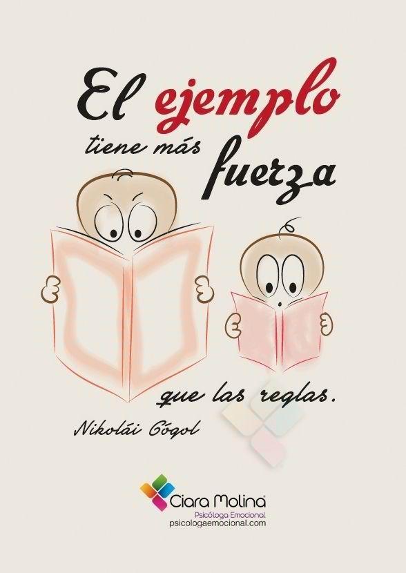 Si los padres leen, sus hijos lo harán por imitación.