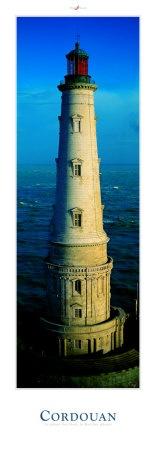 """Cordouan, by Philip Plisson. """"Le roi des phares, classé monument historique depuis 1862. Terminé en 1611, il fut offert à Louis XIV par Colbert. C'est ici que fut installée la première lentille de Fresnel. Il marque l'entrée de l'estuaire de la Gironde."""""""