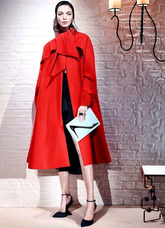 Mariacarla Boscono. Photo: Willy Vanderperre for Dior.