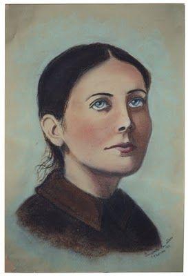St Gemma Galgani: A Portrait of St Gemma Galgani