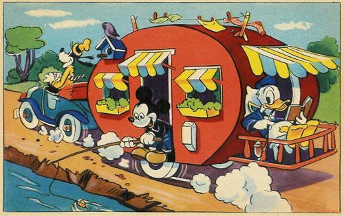 c. Walt Disney - Mickey Mouse Nr: 18 (Mickey Mouse A.-B. Stockholm; Printed in Sweden; Forlag: E.O. & Co.)
