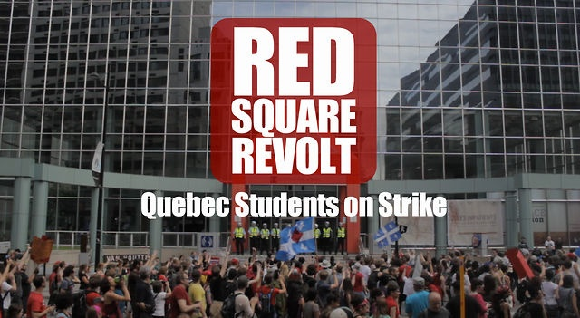 Red Square Revolt | Quebec Students on Strike via Schema
