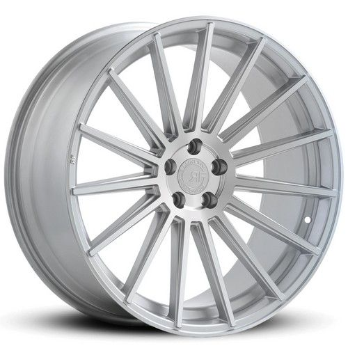 "22"" Road Force Wheels RF15 Silver Rims"