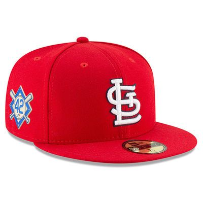 premium selection 5ea74 07c9f Men s New Era Navy St. Louis Cardinals 2018 Jackie Robinson Day 59FIFTY  Fitted Hat