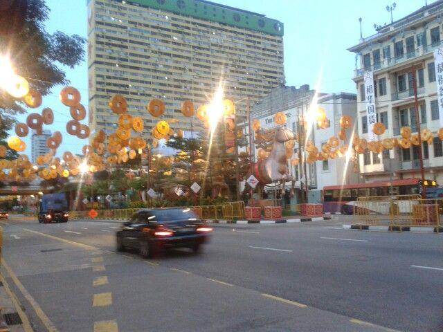China Town en Singapur
