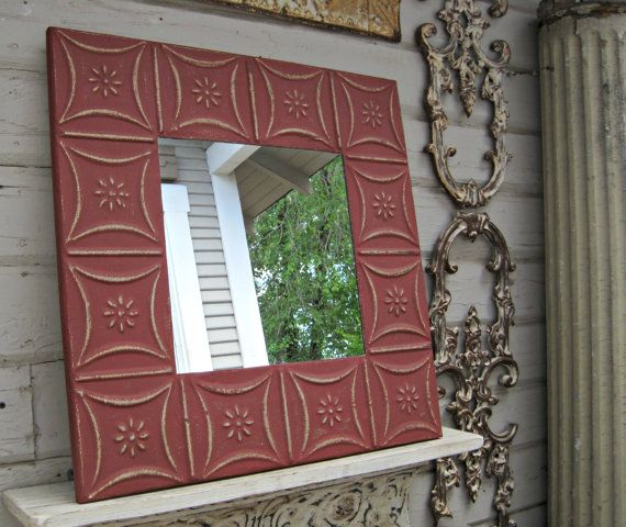 Red Wall Mirror 94 best mirrors images on pinterest | architectural salvage