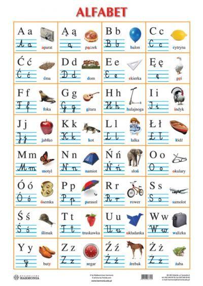 Alfabet Polski Pisany Dla Dzieci Do Wydruku