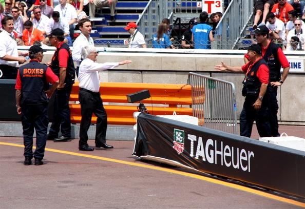 Bernie Ecclestone in Monaco