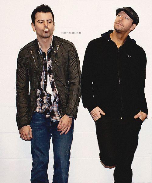 ♥ New Kids On The Block ~ Donnie & Jordan ♥