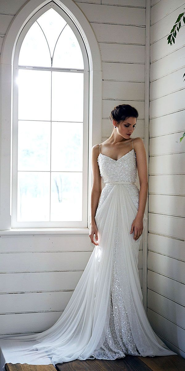 Risque Wedding Dresses with Pockets