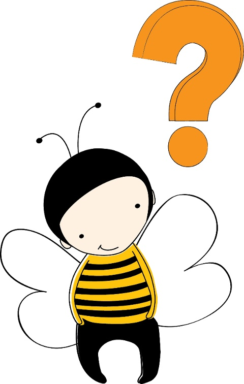 Riddle Me This: What will a busy bee get from visiting too many flowers?   Come back on Friday to find out the answer and get our latest FREE Bizzy project!