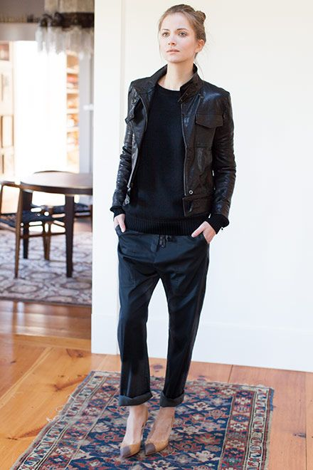 emerson fry + the perfect black pant