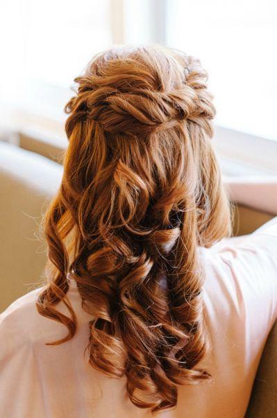 Lockere Brautfrisuren für Ihre Hochzeit 2015: Tragen Sie Ihr Haar offen! Image: 6