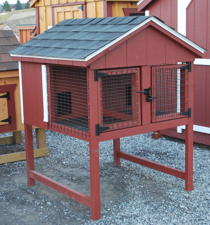 Plans To Build A Double Rabbit Hutch - WoodWorking ...