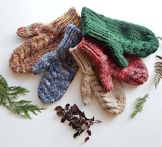 36 best Handmade Knitted Mittens, Hats, and Scarves images ...
