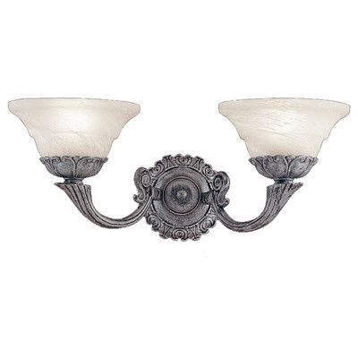 Classic Lighting Bordeaux 2 Light Wall Sconce Finish: Antique Pewter