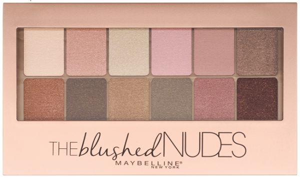 Тени для век The Blushed Nudes
