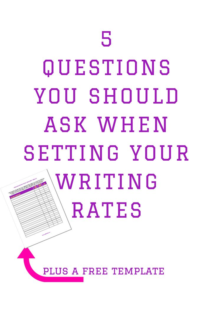 How Much Should I Charge? A Guide to Setting Freelance Writing Rates and Contract