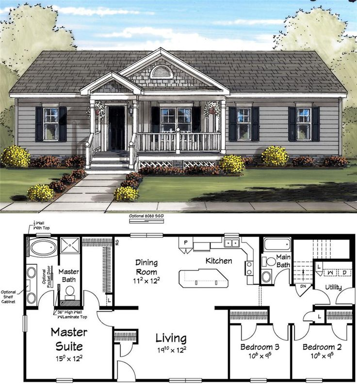 27 best images about advantage home plans on pinterest for Small retirement house plans