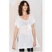 casual side up split pocket tee shirt Best Buy follow this link http://shopingayo.space
