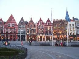 Brugges, Belgium. Absolutely gorgeous city. Beautiful in summer & at Christmas. Don't forget to visit the Chocolate Museum!