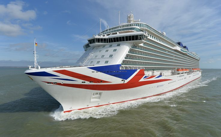 #Britannia #cruise ship - on her way to Southampton to be formally Christened by Her Majesty The Queen. Find out more at http://the-cruise-specialists.co.uk/c/ship-details-query/?client=the-cruise-specialists&nShp=578&nLin=21&nOperator=P+and+O