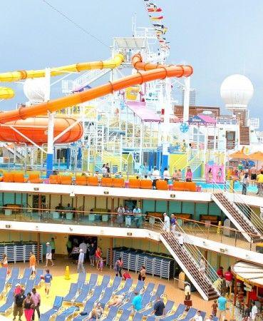Carnival Breeze Reviews - water park #sponsored